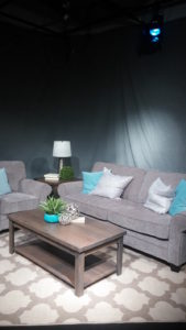 Our new set from Interior Designer Cirey with Judson Roy Furniture Store in Canby