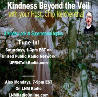 Listen as Chip Reichenthal interviews Diane on Beyond the Veil Radio!